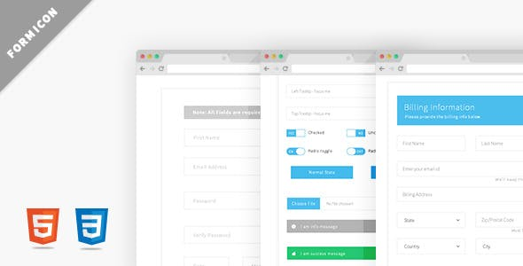 Formicon - Flat Forms Pack