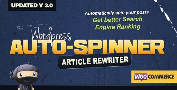 Wordpress Auto Spinner - Articles Rewriter        Nulled