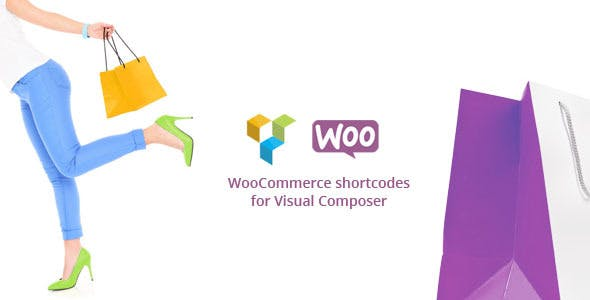 Woocommerce shortcodes for Visual Composer        Nulled