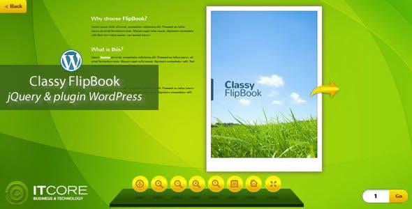 Classy FlipBook Responsive WordPress Plugin