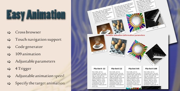 Easy Animation - CodeCanyon Item for Sale