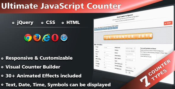 Time Counter Plugin Plugins, Code & Scripts from CodeCanyon