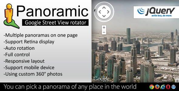 Panoramic - Street View Rotator jQuery Plugin - CodeCanyon Item for Sale