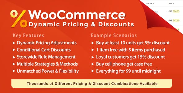 WooCommerce Dynamic Pricing & Discounts - CodeCanyon Item for Sale