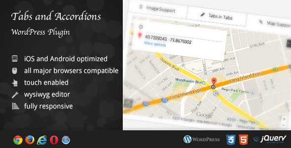 WordPress Tabs and Accordions DZS by ZoomIt | CodeCanyon