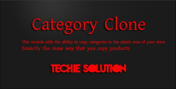 Category Clone - CodeCanyon Item for Sale