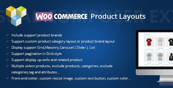DHWCLayout - Woocommerce Products Layouts        Nulled