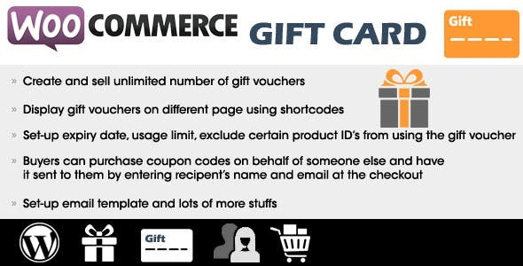 WooCommerce Gift Card        Nulled