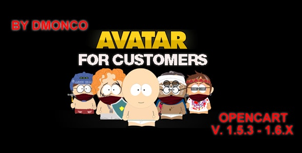 Avatars for customers. - CodeCanyon Item for Sale
