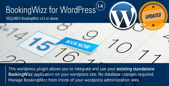 BookingWizz for Wordpress        Nulled