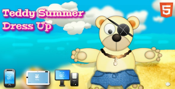 Teddy Summer Dress-up - CodeCanyon Item for Sale