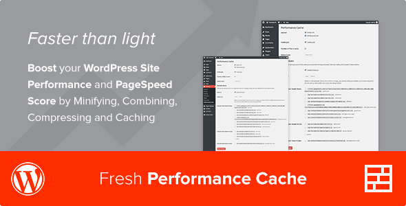 Fresh Performance Cache - WordPress Plugin