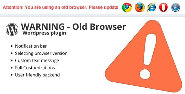 Warning Old Browser - Wordpress plugin