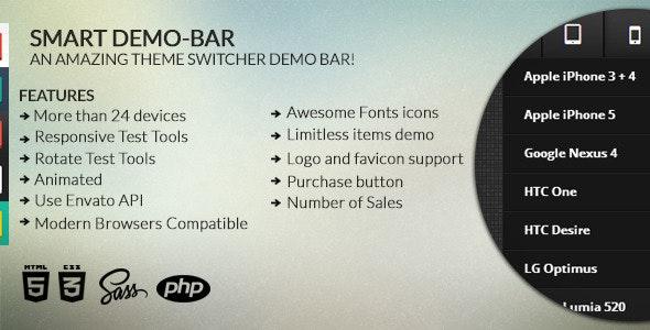 Smart Demo-bar - CodeCanyon Item for Sale
