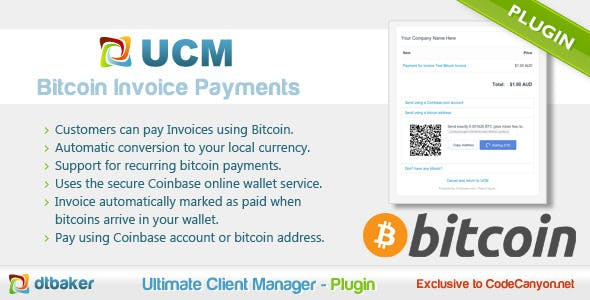 Bitcoin Plugins, Code & Scripts from CodeCanyon