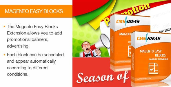 Magento Easy Blocks