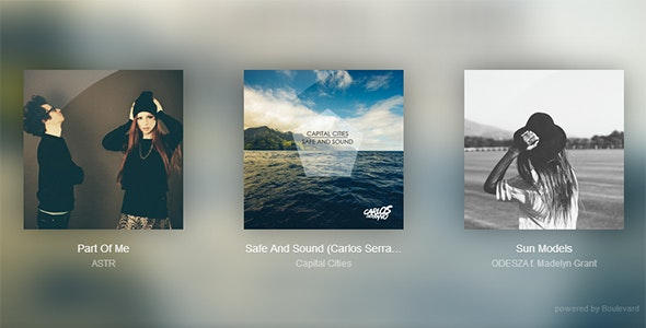 Clarity Music Player - CodeCanyon Item for Sale