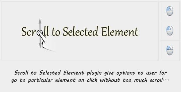 Scroll to Selected Element