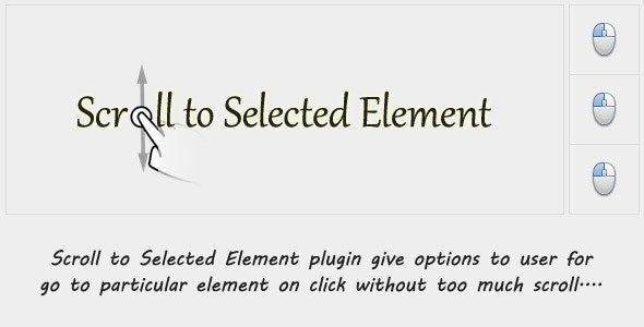 Scroll to Selected Element - CodeCanyon Item for Sale